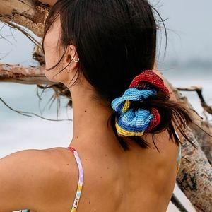Free People crochet super scrunchie